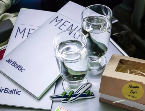 Pirmą kartą airBaltic verslo klase