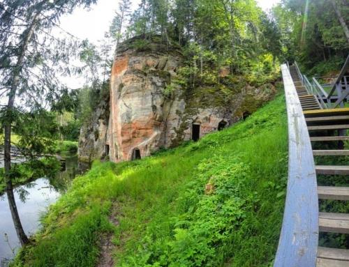 Gaujos nacionalinio parko olų, urvų ir skardžių TOP – 12