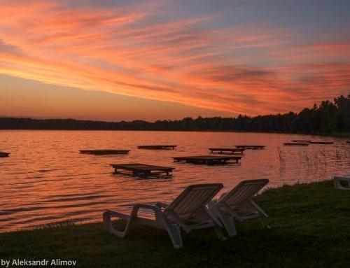 Sventes Rasa – geriausia vieta poilsiui ir gėrėjimuisi saulėlydžiais prie Sventes ežero Latvijoje