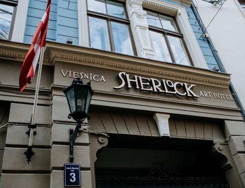 Julija Žagunova: 10 priežasčių apsistoti Sherlock Art Hotel Rygoje.