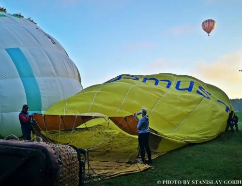 Skrydis oro balionu Birštone. Asmeninė patirtis.